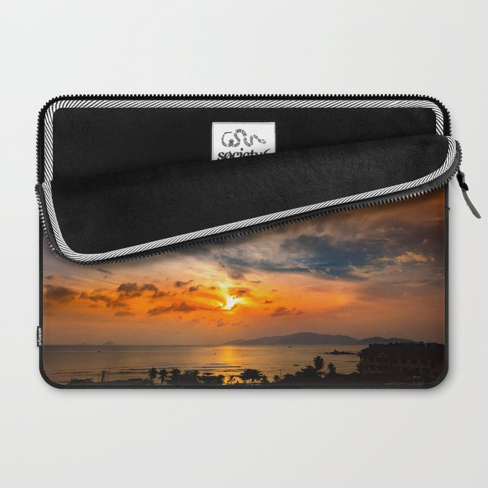 A Sunrise Glow Laptop Sleeve