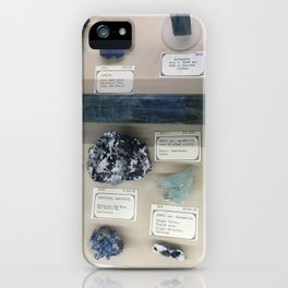 Blue gems iPhone Case