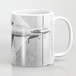 91591 Overhead view of McDonnell XF-88B Experimental Jet Fighter Coffee Mug