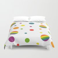 pride Duvet Covers featuring Pride by discojellyfish