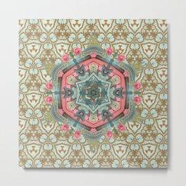 Mystical Virgin - Ab Imo Pectore Metal Print