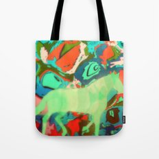 Horse Collaboration Tote Bag