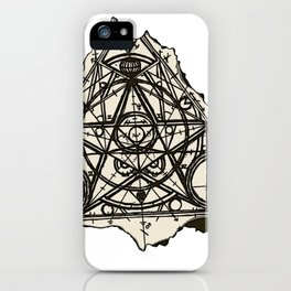 Imperfect Symmetry iPhone Case