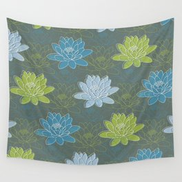 Luscious Lillies Wall Tapestry