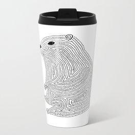 An Elusive Marmot Metal Travel Mug