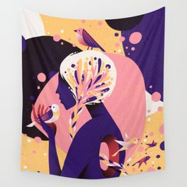 Empty Space Wall Tapestry