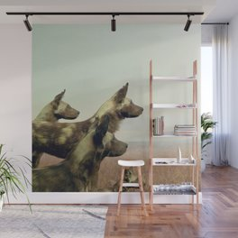 Hi, we are the wild dogs Wall Mural