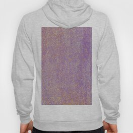 Elegant purple lavender faux gold glitter Hoody
