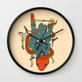 Evil Hand Wall Clock