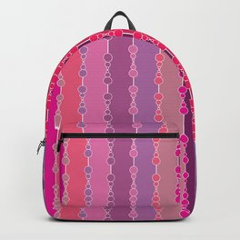 Multi-faceted decorative lines 2 Backpack