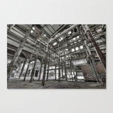 Metallic Structures Canvas Print