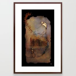 DarkMind Framed Art Print