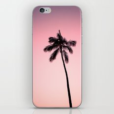 palm tree ver.pink iPhone & iPod Skin
