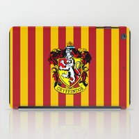 gryffindor iPad Cases featuring Gryffindor - Hogwarts  by Kesen