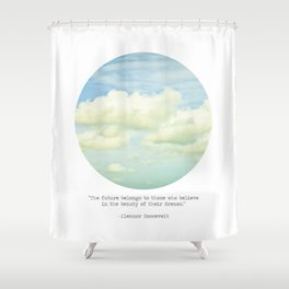 The beauty of the dreams Shower Curtain