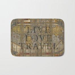 Live Love Travel Bath Mat