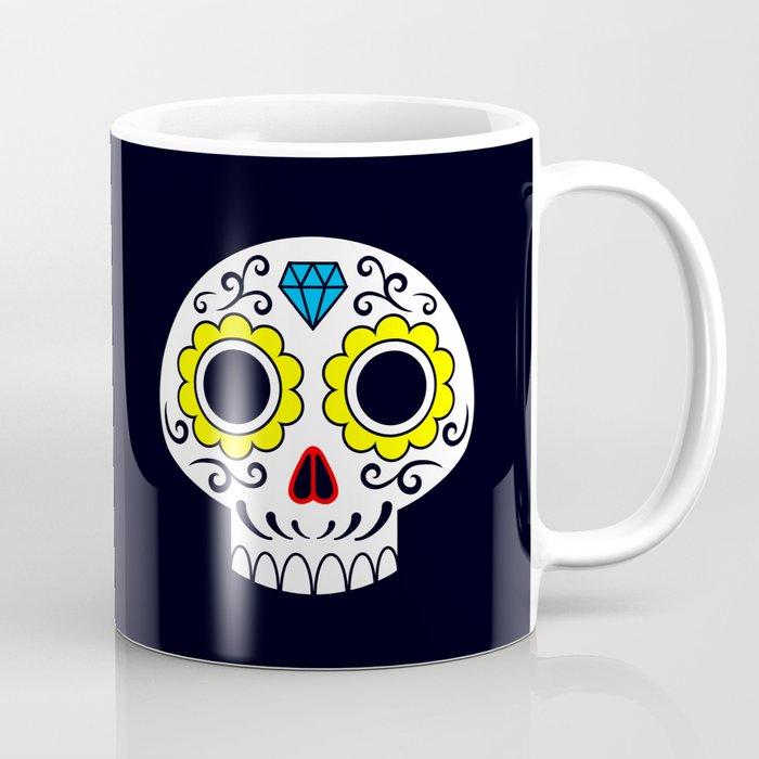 Sugar skull for a cake Coffee Mug