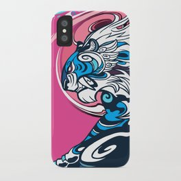 Whirlwind Tiger iPhone Case