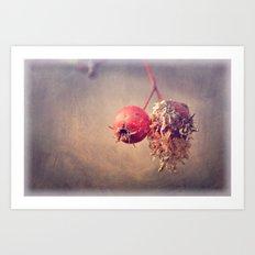 Still. Life. Art Print