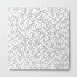 Polkadot Dominos Metal Print