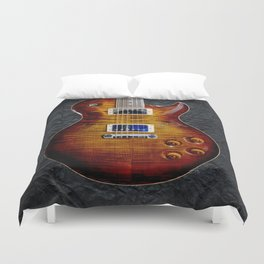 Awesome Guitar Duvet Cover