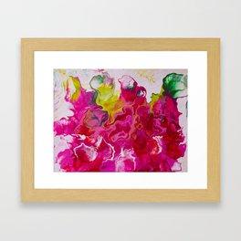 Inviting iris Framed Art Print