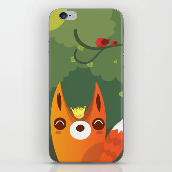 Kingfox iPhone & iPod Skin