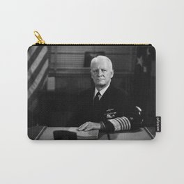 Admiral Chester Nimitz Portrait Carry-All Pouch