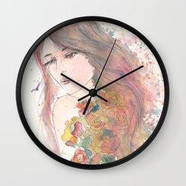 Never Not A Lovely Girl Wall Clock