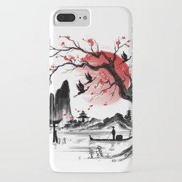 Japan dream iPhone Case