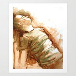 Monochromatose Art Print