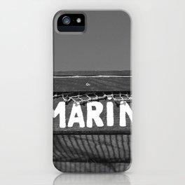 El Marino bw iPhone Case