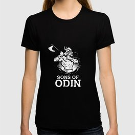 Awesome Sons of Odin Norse Vikings T-shirt