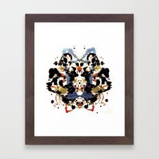 Ink blot v1 Framed Art Print