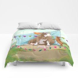 vege queen Comforters