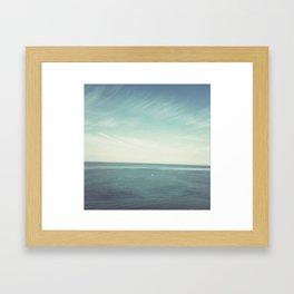 Deep Blue Framed Art Print