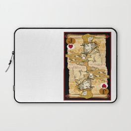 'Mad Hatter' (Alice in Steampunk Series) Laptop Sleeve