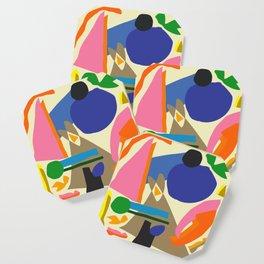 Abstract morning Coaster