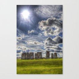 Stonehenge Summer Canvas Print