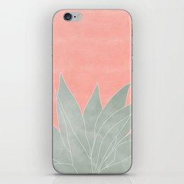 peachy agave iPhone Skin