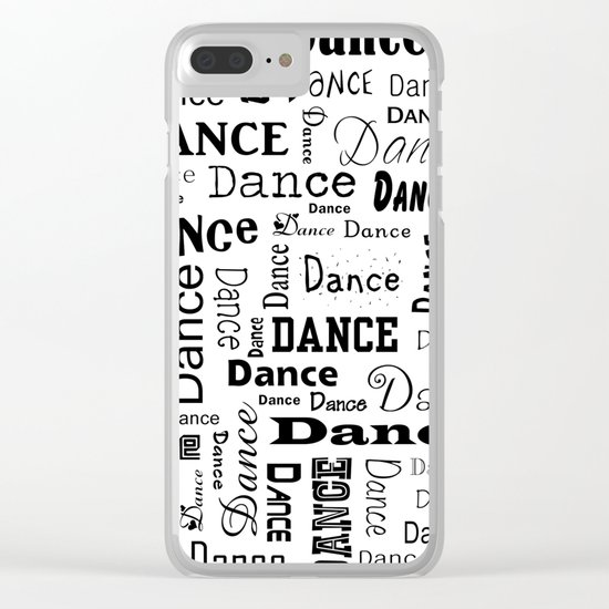 Just Dance! Clear iPhone Case