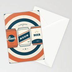 The Beer Brewing Company - Red Stationery Cards