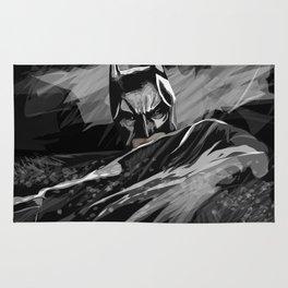 Bat hero Rug