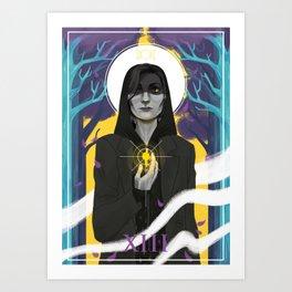 XIII - Death Art Print