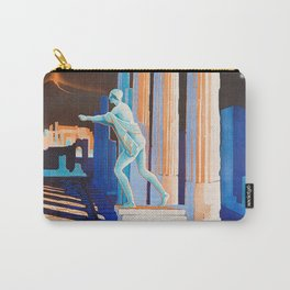 Pompei at Night - Vintage German Travel Ad Carry-All Pouch