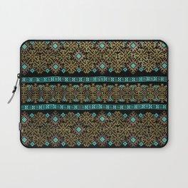 Pattern 021 black&gold Laptop Sleeve