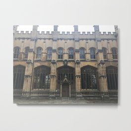 the grand Exeter College Metal Print