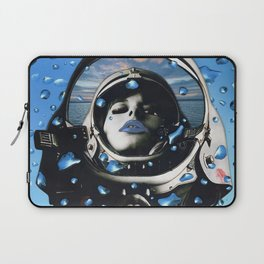 Blue Below Laptop Sleeve