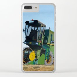 Dear John Deere Clear iPhone Case