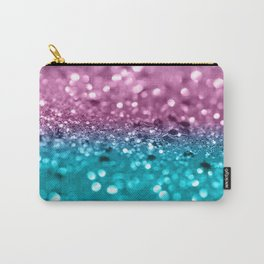 Tropical Beach Lady Glitter #7 #shiny #decor #art #society6 Carry-All Pouch